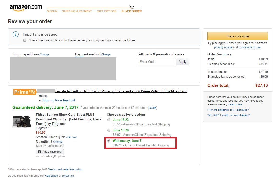 Amazon usa fidgeteerfidget spinner black gold street plus negle Images